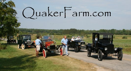 Michigan Jamboree of Model T's tour group